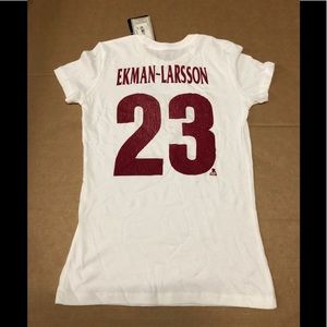 23 CCM Arizona Coyotes women white T-shirt NWT